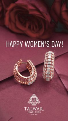 Nice pair of earrings in Rose gold - Gold Jewelry Diamond Bracelets, Diamond Jewelry, Rose Gold Jewelry, Bangles, Small Earrings, Gold Earrings, Jewelery, Jewelry Necklaces, Diamond Tops