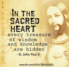 +St John Paul II+ Pope John Paul Ii, Sacred Heart, Catholic, Saints, Knowledge, Wisdom, Facts, Roman Catholic