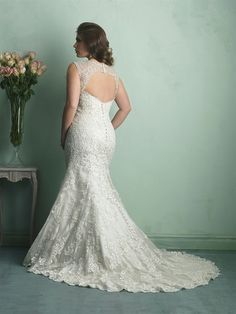 5003e372168c1 Allure Bridals: Style: W340 I think Allure is becoming a fave of mine.