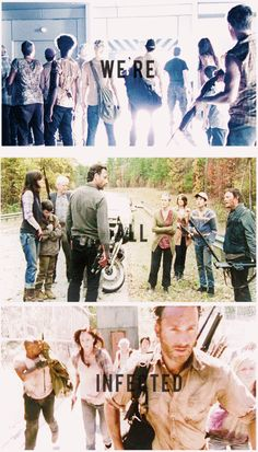 """""""We're all infected,""""--- The Walking Dead"""