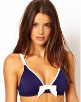 We'll be packing this bow bikini in our suitcase for spring break. #divinecaroline #swim