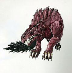 Odogaron Monster hunter world