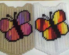 Butterfly Cross Handbag Holder Cane Holder or Bible Case Holder for Table