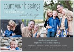 Welker Photography of Boise, Idaho  loves creative phrases  for Holiday Cards.  #Photographers #Boise