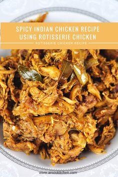 rotisserie chicken Indian style