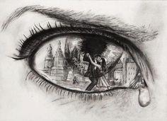 dibujos de ojos llorando a lapiz - Google zoeken