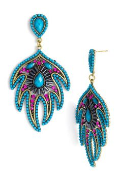 big, bold earrings are my favorite