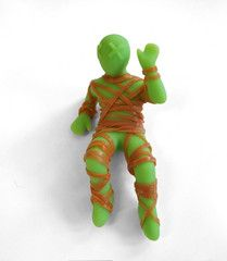 mummy mike rubber band ball holder