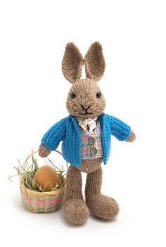Bien vestido conejo tejer patrón