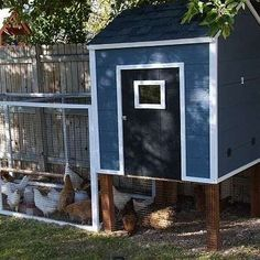 Below we've forty four free DIY chicken coop plans with easy step by step directions. we will also give you some general tips about coops to assist sleek the trail for you. Small Chicken Coops, Cheap Chicken Coops, Diy Chicken Coop Plans, Portable Chicken Coop, Chicken Coop Designs, Backyard Chicken Coops, Building A Chicken Coop, Chickens Backyard, Keeping Chickens