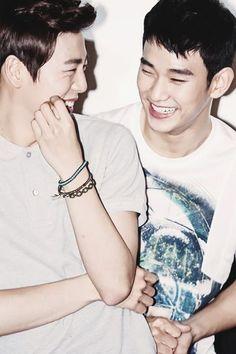 Lee Hyun Woo & Kim Soo Hyun