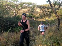 And a thumbs up!  Tough course, i won't lie.. I was exhausted standing there taking pics. @KZNTRAILRUNNING