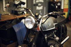 bmw at Los Muertos Motorcycles. taken from my guy with camera blog.