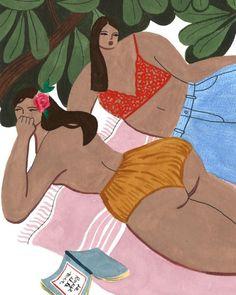 @summah.co #society6 #watercolor #illustration #summer