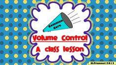 Volume Control is designed for classroom teachers, SLP therapy groups, and sessions. Your students will have fun playing with their voices and the powerful visuals will serve as a cueing system to ensure student achievement. Emotional Support Classroom, Special Education Classroom, Classroom Rules, Speech Language Therapy, Speech And Language, Speech Therapy, Teaching Art, Teaching Resources, Voice Therapy