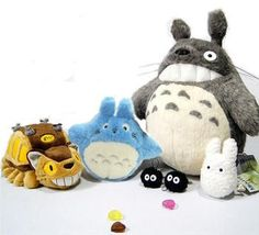 My Neighbour Totoro 6 Piece Plushie Set