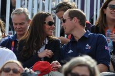 "Pin for Later: 48 Times You Could Almost Relate to Will and Kate The ""I Love You and Your Silly Sunglasses"" William and Kate had the look of love during a July 2012 tennis match in London."