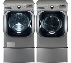 2. LG Graphite 5.1 Cu Ft Front Load Steam Washer