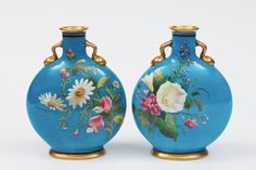 Par de vasos em porcelana Chinesa do sec.19th, marcas Kangxi, 31cm de altura, 24,700 EGP / 9,300 REAIS / 2,850 EUROS / 3,450 USD / 21,500 CHINESE YUAN https://www.facebook.com/SoulCariocaAntiques