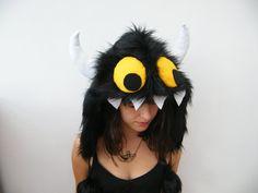 6549d480b289 Monster Festival Hood Wild Animal Fancy Dress by MadeInTheForest Animal  Fancy Dress Costumes