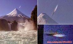 CHILE: UFO in cigar form Div Directly Osorno Volcano