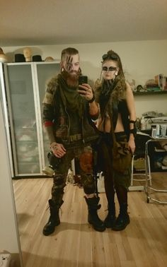 Post apocalyptic costumes :)