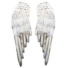 Wooden Angel Wing Wall Accents : EBTH