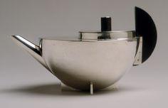 Marianne Brandt: Tea infuser and strainer (2000.63a-c)   Heilbrunn Timeline of Art History   The Metropolitan Museum of Art