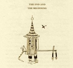 the end and the beginning, tove jansson Tove Jansson, Moomin Cartoon, Moomin Wallpaper, Moomin Valley, Rainbow Butterfly, Zen Art, Book Illustration, Painting & Drawing, Watercolor Art