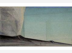 Lyonel Feininger, Düne am Abend, 1927, Öl auf Leinwand, LWL - Landesmuseum Münster