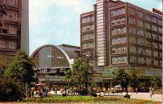 DDR. Berlin Alexanderplatz, 1970s. Alexanderplatz metro station, Alexanderplatz, East Berlin, former GDR.