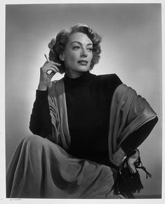 Joan Crawford (hand on hip) by Yousuf Karsh; 1948 | Museum of Fine Arts, Boston