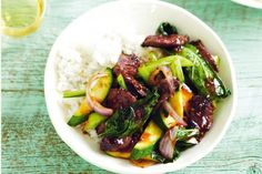 Beef Recipes :Peppered Beef Stir-fry