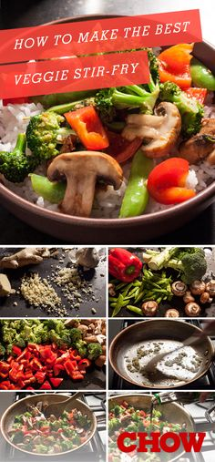 How To Make The Best Veggie Stir-Fry