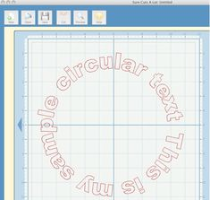 Using Msword To Generate Circular Text For Cutting
