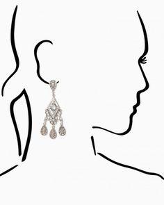 Flourishing Touch Drop Earrings