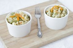Summertime Quinoa Salad    The Fig Tree  (with pumpkin seeds, apricots and gouda cheese)