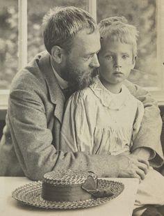 Erik Werenskiold & son Dag