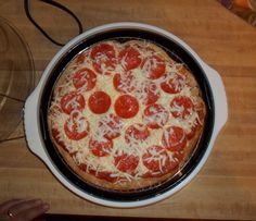 Whitney P. sent us a picture of her delicious NuWave pepperoni pizza! She fit a premade crust into the Silicone Pizza Liner and browned it on Power Level Hi for 10 minutes. After flipping it, she cooked for 7 more minutes, and then added the toppings. Finally, she cooked for a few more minutes to melt the cheese! Did you save us a slice, Whitney?