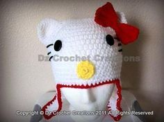Hello Kitty Inspired Character Face