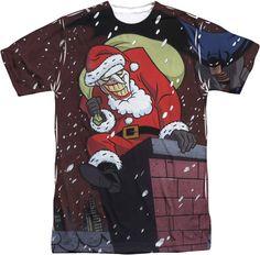 Batman Joker Claus Sublimation T-Shirt