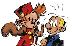 André Franquin (1924 - 1997) Autor belga de historietas belga. Creó escuela en europa y es conocido por sus personajes Spirou y Fantasio, Marsupilami, Tomás el Gafe.