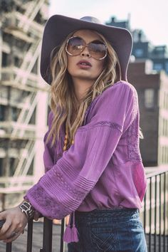 Spell & The Gypsy Collective go to NYC with Alexander Spencer to photograph their latest women's bohemian inspired clothing.