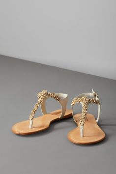 most gorgeous sandal flats by anthro