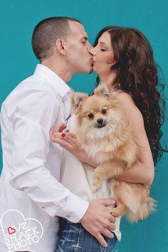 engagement - dog  Love Shack Photo