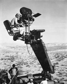 "Sam Peckinpah shooting ""Pat Garrett and Billy the Kid""."