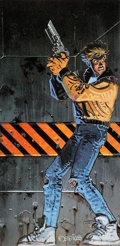 Moebius - Fade to Black (1995), game cover