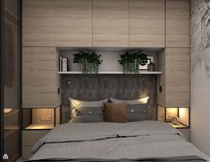 Wardrobe Design Bedroom, Room Design Bedroom, Bedroom Furniture Design, Modern Bedroom Design, Bedroom Layouts, Home Room Design, Small Bedroom Designs, Small Bedroom Interior, Bedroom Built Ins