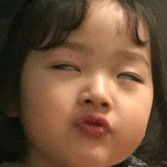 Cute Baby Meme, Baby Memes, Cute Memes, Cute Asian Babies, Korean Babies, Asian Kids, Photographie Indie, Cute Babies Photography, Cute Cartoon Images