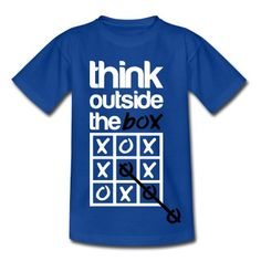 think, outside, box, funny, noughts, and, crosses, lol, cool